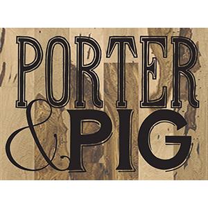 Porter & Pig Logo